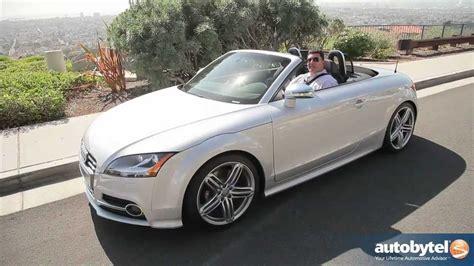 Audi Tts Convertible by 2012 Audi Tts Test Drive Convertible Car Review