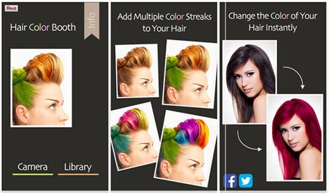 try on hair colours 3 fun apps to experiment with your hair colour hair romance