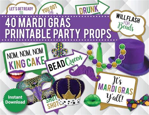 printable mardi gras photo booth props 543 best images about mardi gras on pinterest balloon