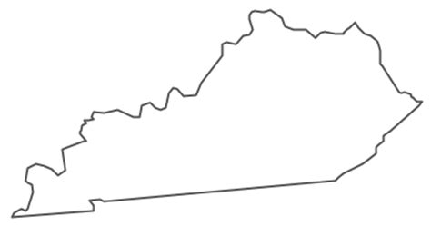 geo map usa kentucky