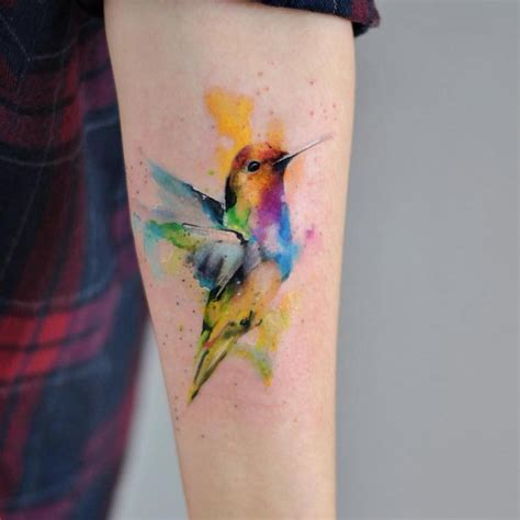 painting tattoos delicate watercolor tattoos look like beautiful paintings