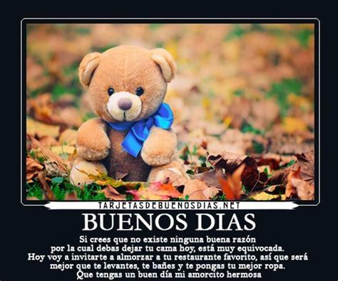 Imagenes Bonitas De Buenos Dias Ositos | lindos ositos con mensajes de buenos d 237 as para compartir