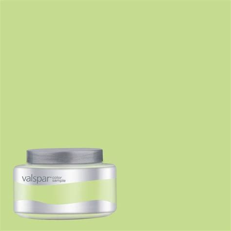 shop valspar pantone paradise green interior satin paint sle at lowes www
