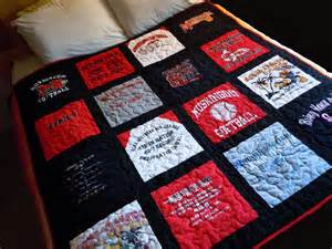 custom made memory t shirt quilts deposit only
