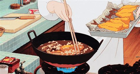 film anime cooking studio ghibli food gifs will make you hungry