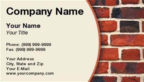 construction business card template psd construction business card designs business card templates