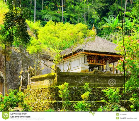 traditional balinese architecture stock photo image