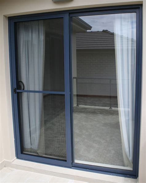 sliding door pioneer aluminium glass - Sliding Doors