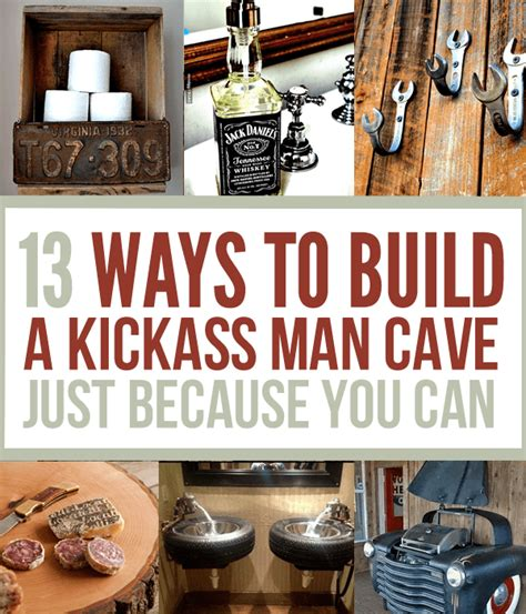 badass home decor 19 man cave ideas survival life