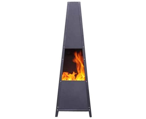 Large Contemporary Chiminea Alban Large Contemporary Garden Chiminea