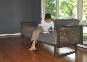items similar to recycled barn wood and steel daybed sofa on etsy