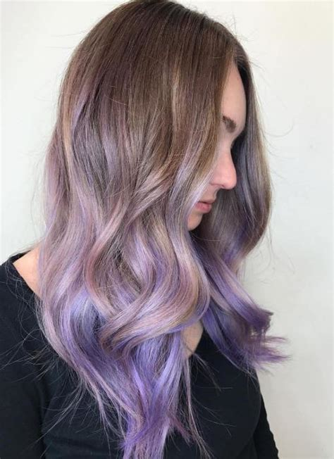 can i out an ombre into mybob the prettiest pastel purple hair ideas