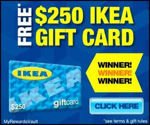 Who Sells Ikea Gift Cards - 250 ikea gift card at totally free stufftotally free stuff