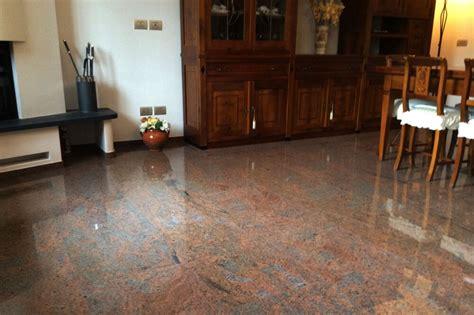 pavimenti granito pavimento e scala villa residenziale la quattro marmi e