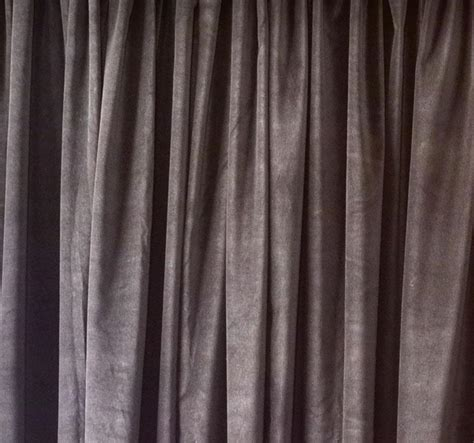 noise insulating curtains brown velvet curtain 96 quot h acoustic noise sound dening