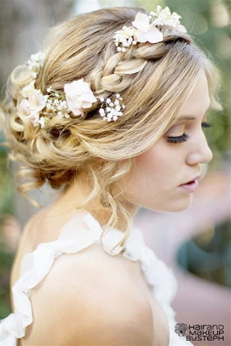 Formal Hairstyles With Flowers | prom hairstyles with flowers