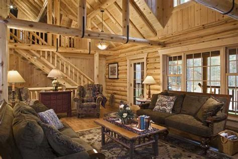 home on log home interiors log homes