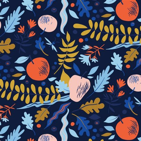 nature pattern vector free nature pattern design vector free download