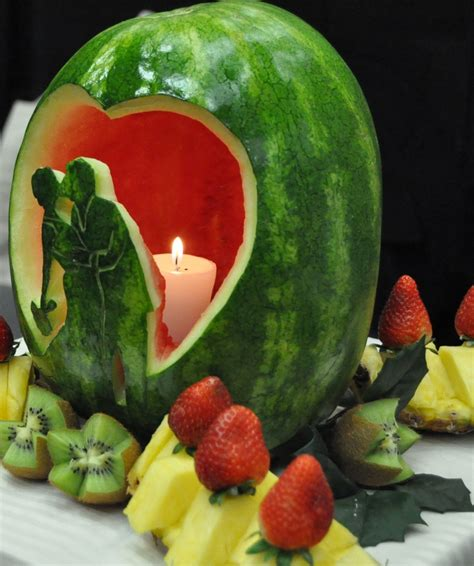 They Been Carving Melons Again by Carved Wedding Watermelon By Simply Delicious Fruit Tables