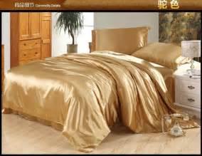 Tan Duvet Covers Camel Tan Silk Satin Bedding Set Queen Full Quilt Duvet
