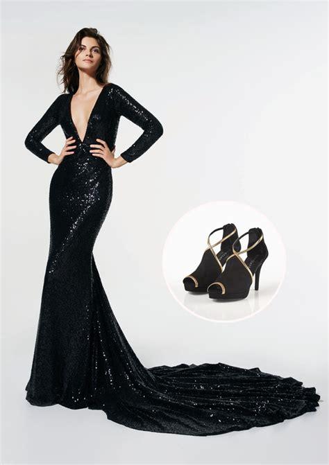 negro el color rey un zapato para cada vestido 8 combinaciones para tu look