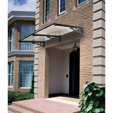 heritage window awnings stradbroke tinted window awning canopy 240x80cm buy door