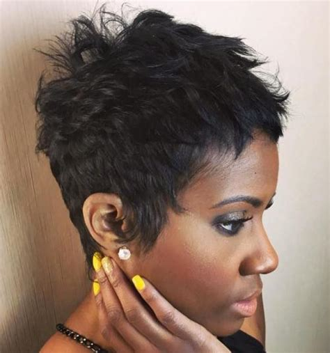 Pixie Hairstyles For Black Hair by Pixie Haircuts For Thick Hair 50 Ideas Of Ideal