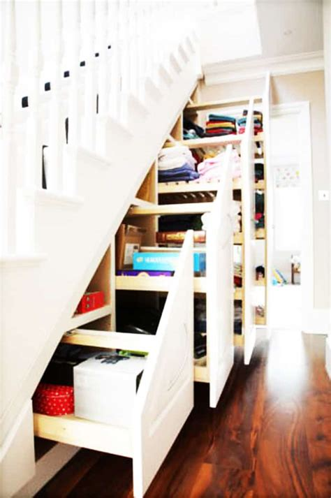 under the stairs design idea www buildmyart com over 30 clever under staircase storage space ideas and