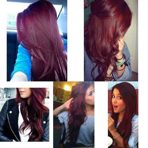 cherry coke hair color formula black cherry hair color formula hairsstyles co