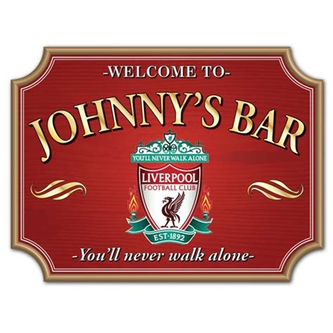 Home Bar Signs Jaf Graphics Vintage Shaped Personalised Photo Home Bar Sign