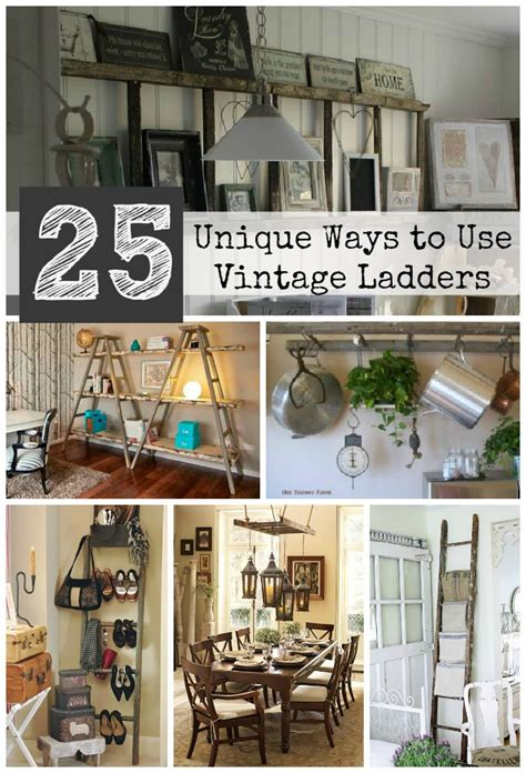 5 unique ways to decorate your home for the holidays old ladders unique ways to repurpose them in your home