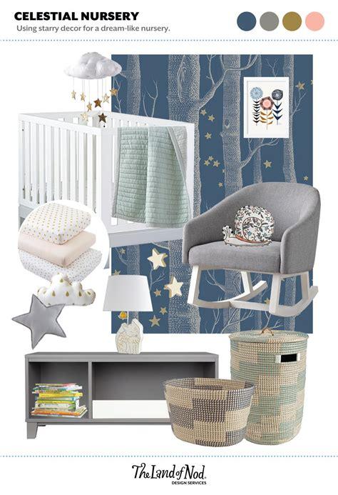 Celestial Nursery Honest To Nod Celestial Crib Bedding