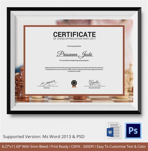 certificate design in photoshop tutorial certificate of appreciation photoshop templates gallery