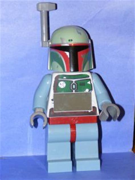 Lego Mini Figure Alarm Clock Boba Fett lego wars boba fett figure