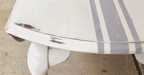diy chalk paint grainy diy how to paint grain sack striping on furniture via