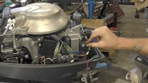 mercury outboard motor not charging battery charging a battery from an outboard youtube