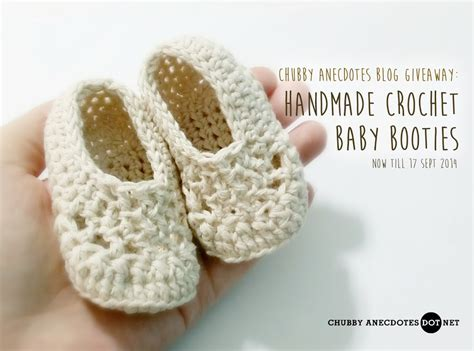 Handmade Crochet Baby Booties - giveaway handmade crochet baby booties craft