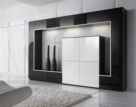 Living Room Storage Cabinets With Doors With Modern Design