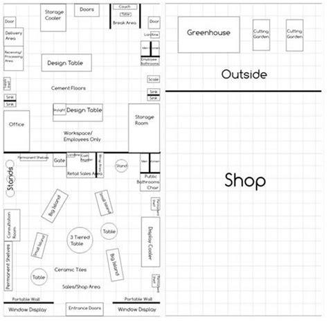 florist shop layout design assignments camille e domingue