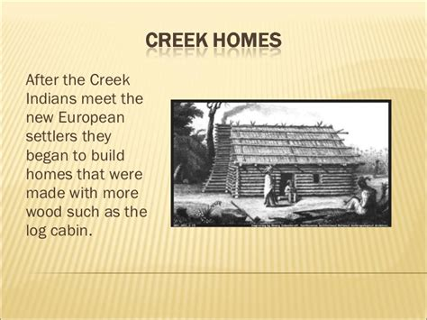 and creek homes