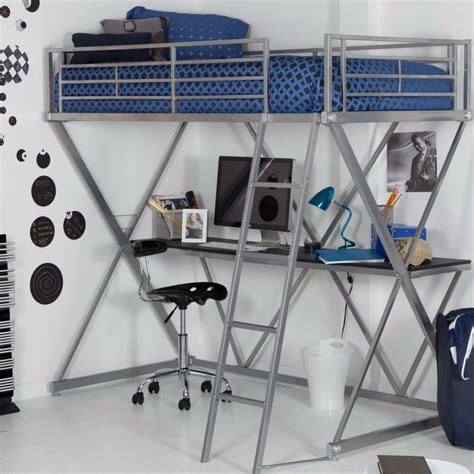 Ebay Bunk Bed With Desk by Loft Bed With Desk Space Saver Bunk Bed Bedroom