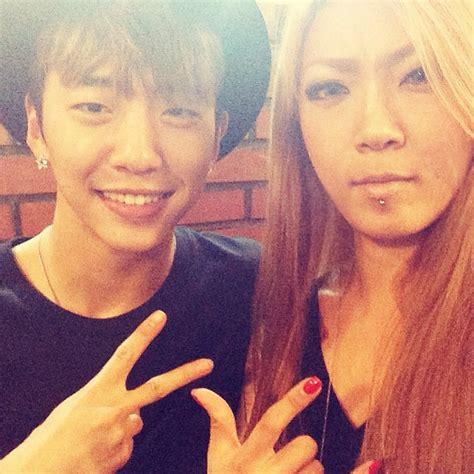 instgram bang yongguk reunites with his twin and noona