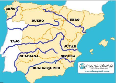los rios de espana r 205 os de espa 209 a mapas y mapas interactivos jugando y