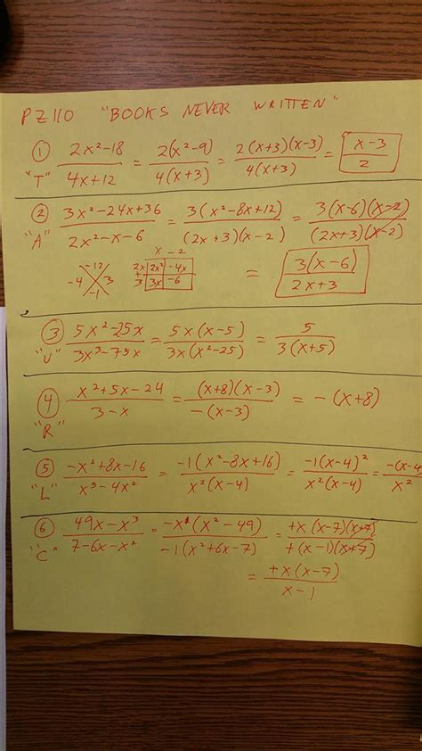 Books Never Written Math Worksheet The In