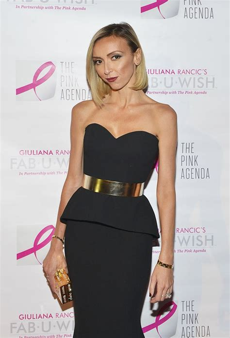 giuliana rancic s diet and exercise tips never missing giuliana rancic on new breast cancer guidelines why g is
