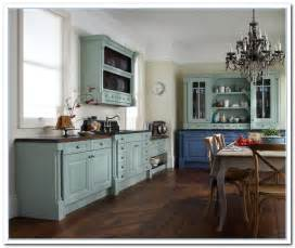 Ideas For Painting Kitchen Cabinets Photos by Inspiring Painted Cabinet Colors Ideas Home And Cabinet