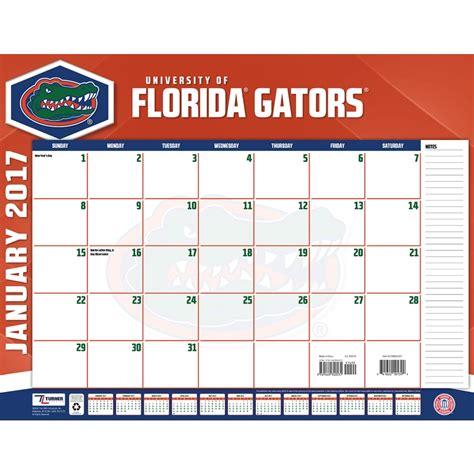 florida gators desk accessories florida gators 2017 desk pad 9781469340531 calendars com