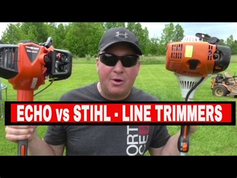 echo srm   stihl fsr  trimmer comparison viewoilaboutit