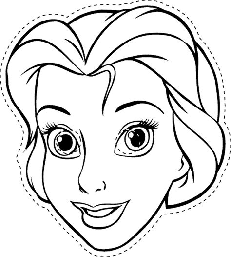 printable masks in color coloring pages of disney character mask coloring kids