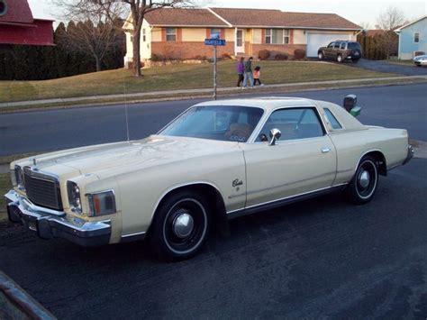1978 Chrysler Cordoba by 1978 Chrysler Cordoba Cars Chrysler